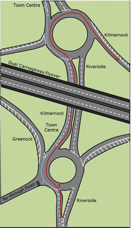 Greenwood Interchange in Irvine